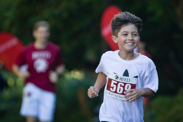 Reed College 5k run/walk