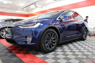 2017 Tesla Model X - Deep Blue Metallic 2