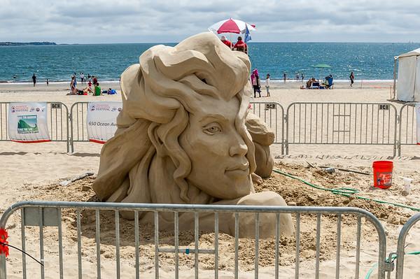 Revere Sand Sculptures