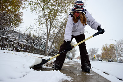 Photos: Snow Blankets Boulder County