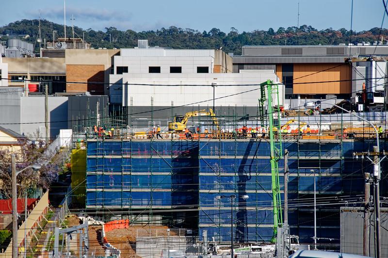 Gosford Hospital building progress September 7,  2018.   (h24ed)