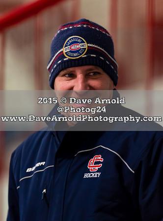 1/19/2014 - Boys Varsity Hockey - Lincoln Sudbury vs  Central Catholic