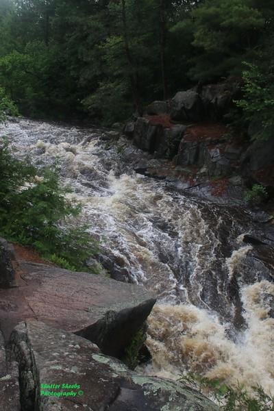 Dave's Falls-Amberg WI. 6-16-2018