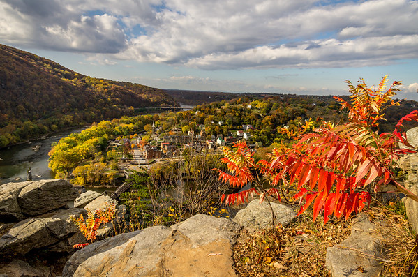 Maryland Heights above Harper's Ferry