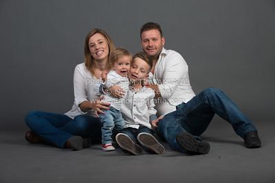 Raquel Batista e família