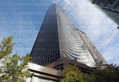 The Columbia Center, 76-story skyscraper at  701 5th Avenue in Seattle, Washington is currently the tallest building in metropolitan Puget Sound