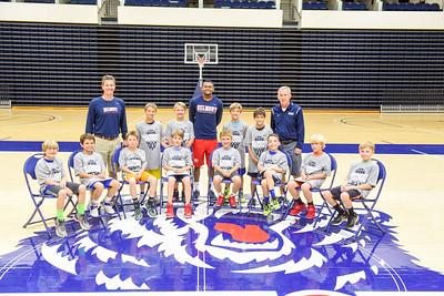 Boys Basketball camp session 1