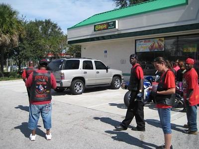 Pacesettesrs Pensacola/Tampa @ Biketober 08