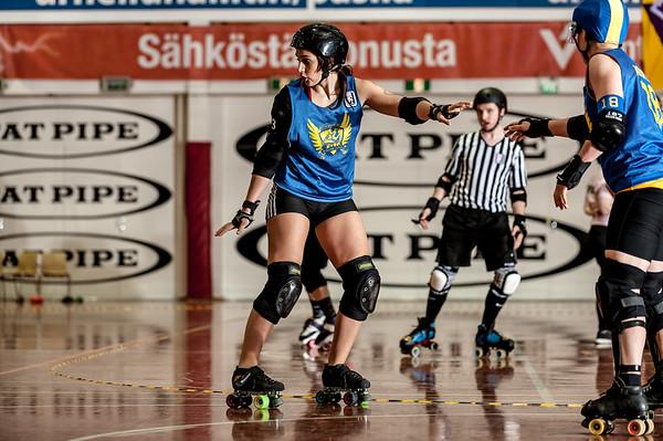 KFI 4 - Helsinki Roller Derby vs. Stockholm Roller Derby