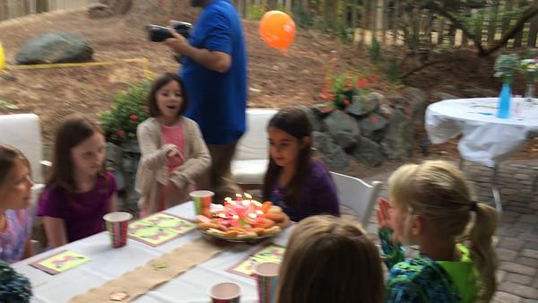 2016 - Avery's Birthday