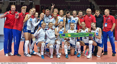 09.01.16 • FINAL: Russia - The Netherlands #RoadToRio #Women