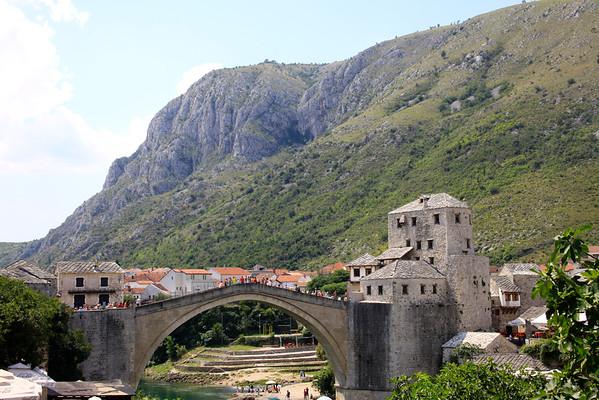 Mostar, Bosnia - August 2014