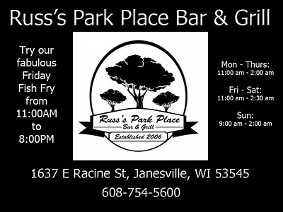 2015-01-22 Events - Lunch at Russ's Park Place