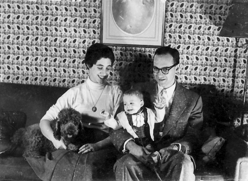 Mom Dad John and Sherry Circa 1955?