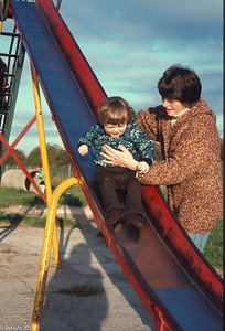 The Blanchfields in Rathcoole in 1979