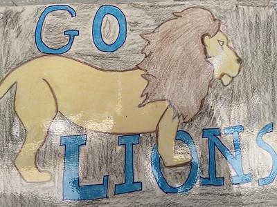 Lion Pride Art