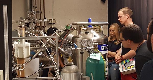 CSU tour - High Energy Physics Principles and Instrumentation class