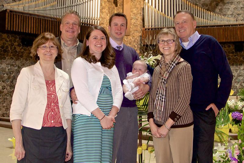 At the Baptism of Alexander James