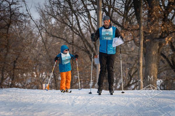 2021-01-30 Ski Orienteering