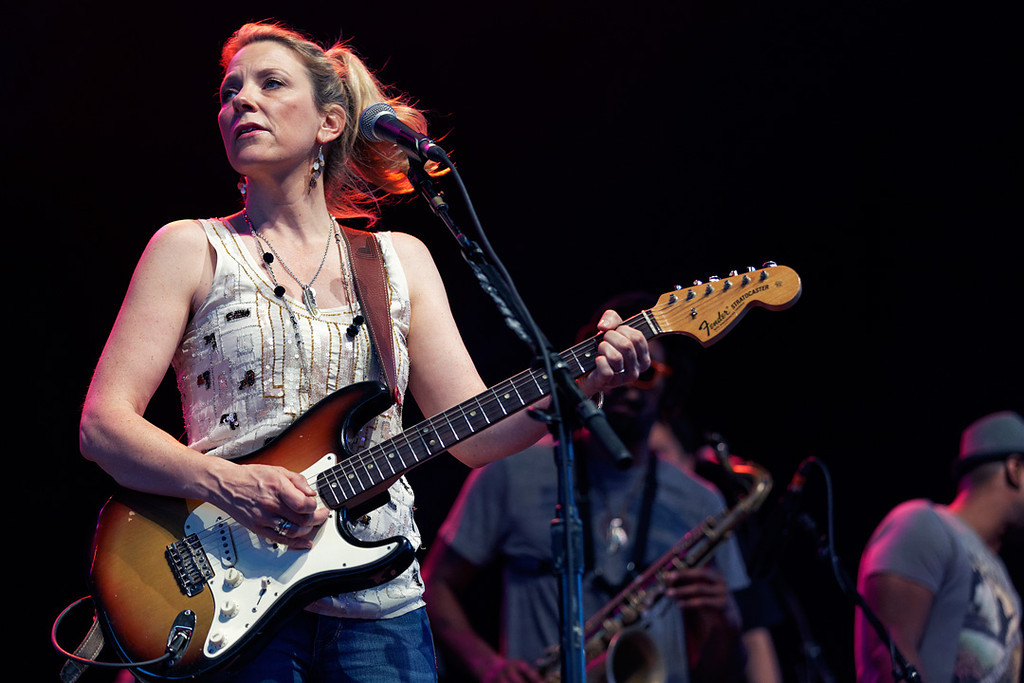 . Susan Tedeschi performs at Freedom Hill Amphitheatre on Tuesday, June 17. 