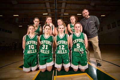 2015-2016 JV & Freshman Girls Basketball