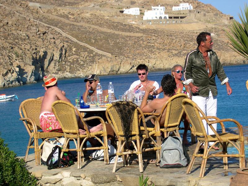 Mykonos - July 2004 Super Paradise Beach