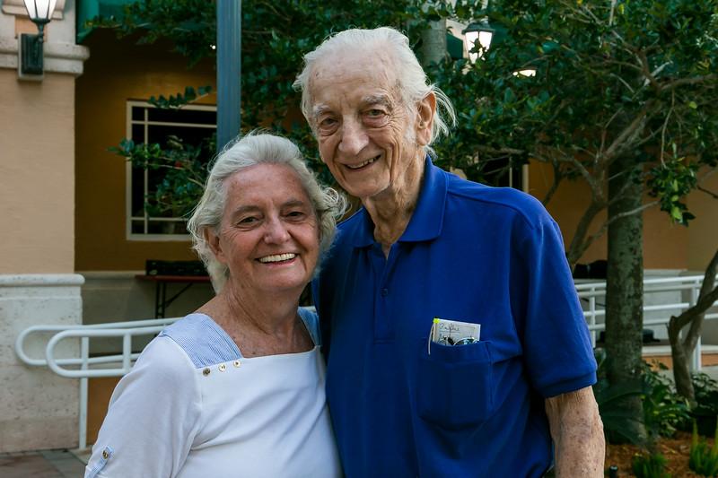 Linda Cook and Ed Grant