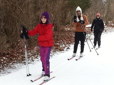 2013 Team Priority Health / Team NordicSkiRacer ski clinic