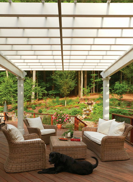 888 - 361386 - Basking Ridge NJ - Azek Pergola