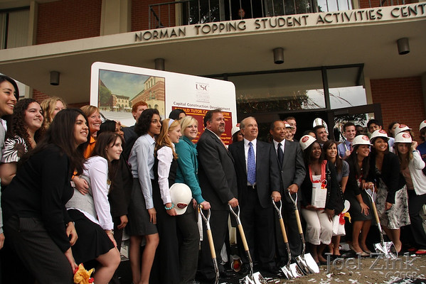 Ronald Tutor Campus Center Groundbreaking