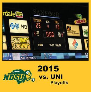 2015 Playoffs - UNI Highlight Photos