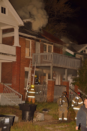 Detroit MI, Box Alarm 10-29-11. Waverly & 14th