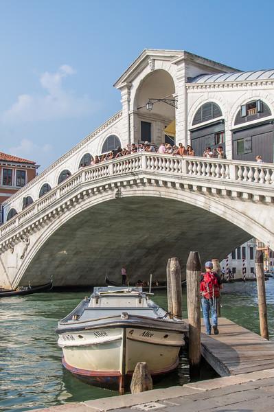 Rialto Bridge over the Grand Canal