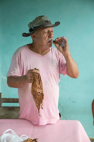 Juan, a tabacco farmer.
