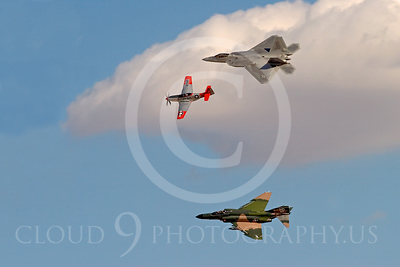 HERITAGE FLIGHT: Pictures of Old and Modern Military Airplanes Flying in Close Formation