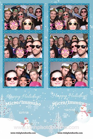 Photo Strips - 12/7/18 - Dartmouth Micro/Immuno Holiday Party