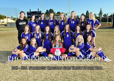 2013-14 - NCS Girls Soccer Team Pictures