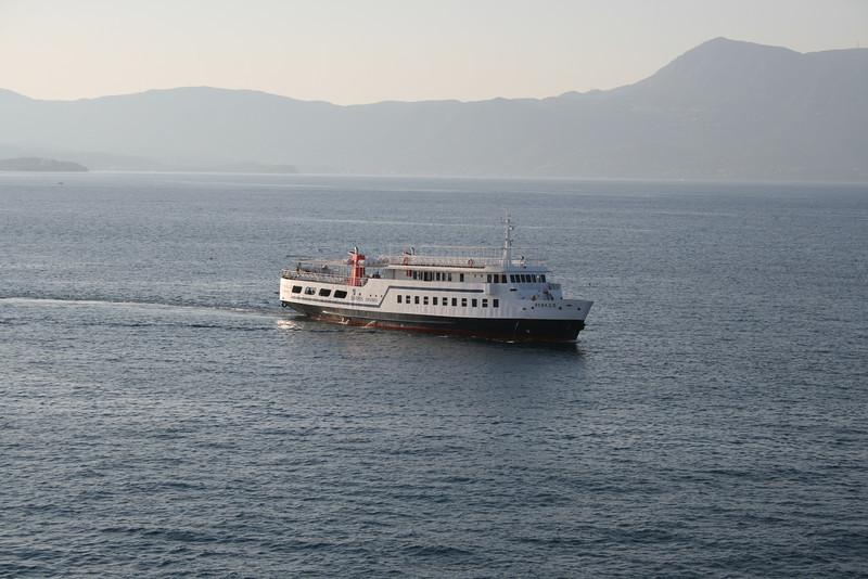 2010 - F/B RENA S II arriving to Corfu.