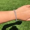 9.50ctw Round Brilliant Diamond Tennis Bracelet 32