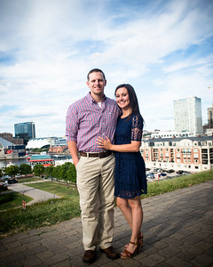 The Engagement Photo Session of Ashlee Potts and Matthew Casey