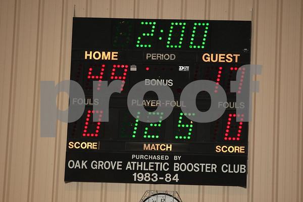 Varsity and Junior Varsity-Oak Grove vs Odessa 1-10-08