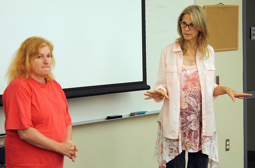 . Lindsay Wagner, an Emmy Award-winning actress, is teaching Acting and Directing for Television and Film and Motion Picture Production as an adjunct faculty member at San Bernardino Valley College. (San Bernardino Valley College for The Sun)