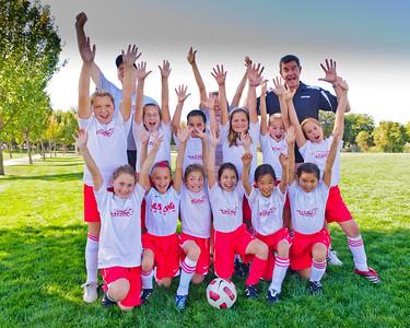2011 Mustang Soccer - Team Banshees