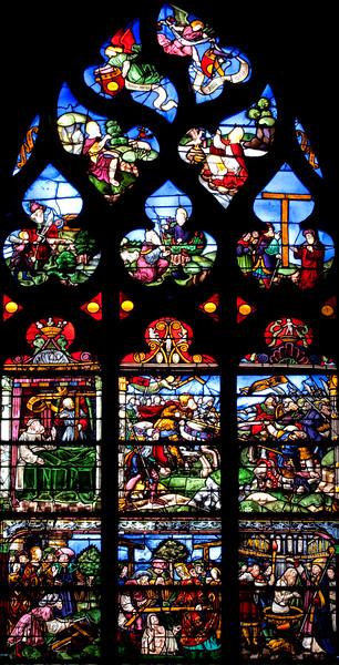 Troyes Sainte-Madeleine Church, The Legend of the True Cross