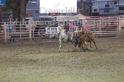 2014 Dayton Rodeo Steer Wrestling - Sunday