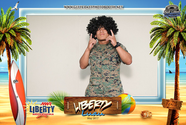 MWR Liberty Luau 2017 Photo Booth Prints
