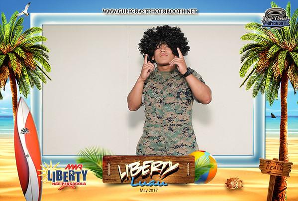 MWR Liberty Luau 2017 Photo Booth Prints