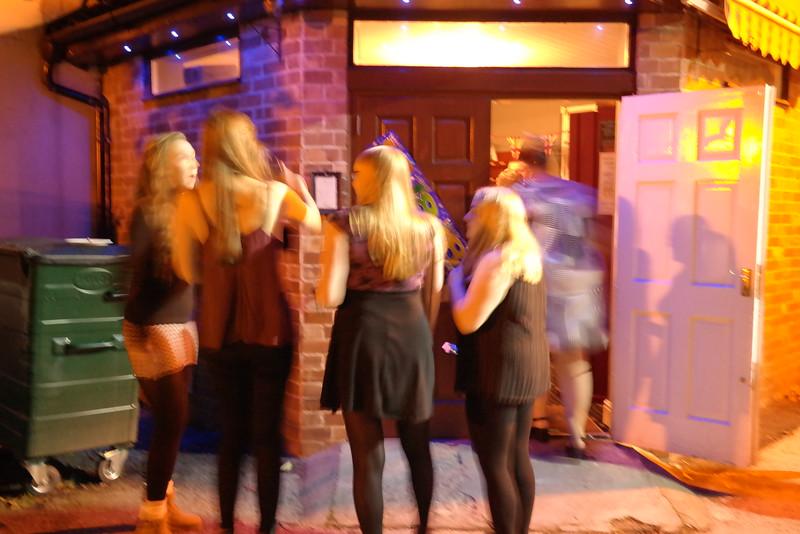 Amy  Degg's 18th Birthday Party