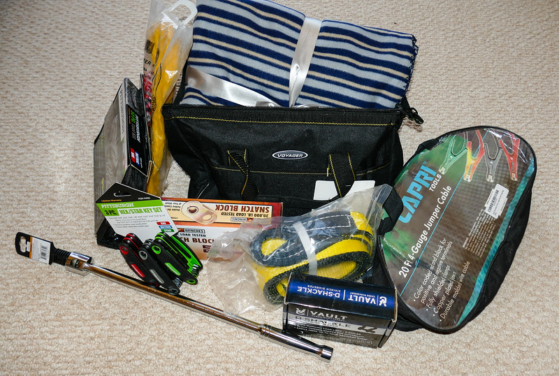 Be prepared on a winter road trip. Pack your car with the items in our winter driving kit.