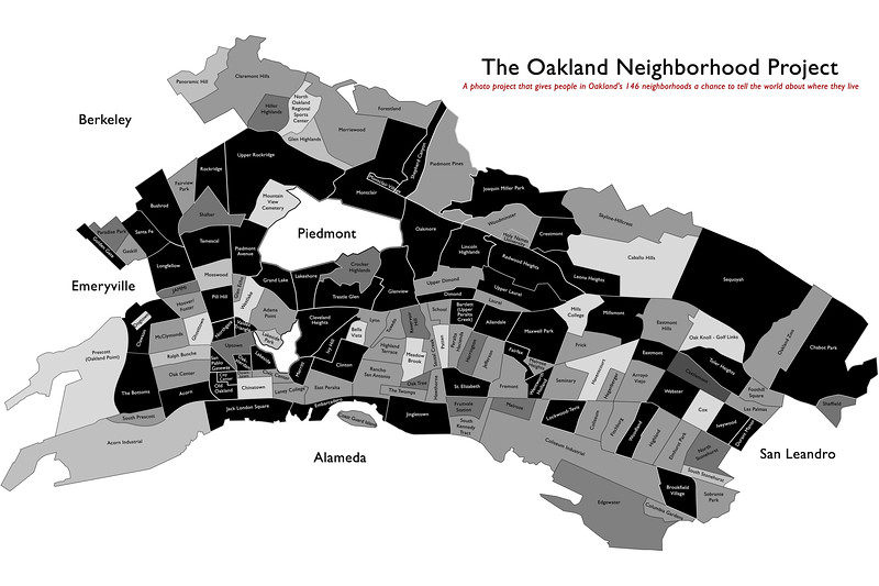 Oakland Neighborhood Map